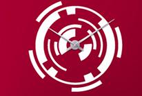 Nalepovací nástěnné hodiny 21 - SLEVA 30%