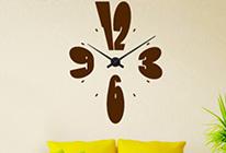 Nalepovací nástěnné hodiny 03 - SLEVA 30%