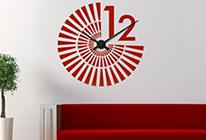 Nalepovací nástěnné hodiny 24