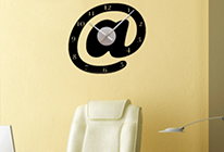 Nalepovací nástěnné hodiny 26