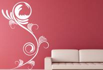 Samolepka na stěnu - Popínavé rostliny 01
