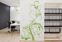 Samolepka na stěnu - Popínavé rostliny 02