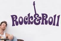 Samolepka na zeď - Rock and Roll