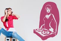 Samolepka na zeď - DJ