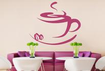 Samolepka na zeď - Dobrá káva