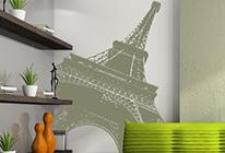 Samolepka na zeď - Eiffelovka 01