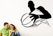 Samolepka na zeď - Basketball 01