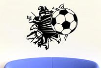 Samolepka na zeď - Fotbalový míč