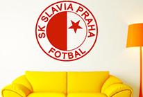 Samolepka na zeď - Logo Slavia Praha