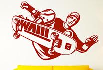 Samolepka na zeď - Skateboard 01