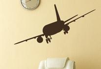 Samolepky na stěnu - Letadlo