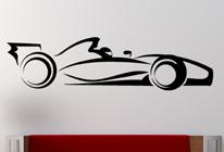 Samolepky na stěnu - Formule 1