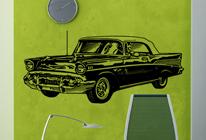 Samolepky na stěnu - Auto 02