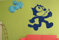 Samolepky na zeď - Kocour Felix