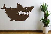 Samolepky na zeď - Žralok 02