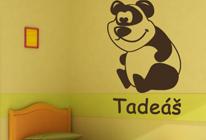 Samolepky na zeď - Panda Vanda