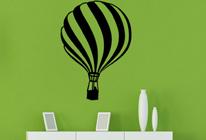 Samolepky na zeď - Letící balón