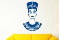 Samolepky na zeď - Nefertiti