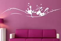 Samolepky na zeď - Šplíchnutí barvy