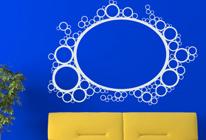 Samolepky na zeď - Velká bublina