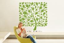 Samolepky na zeď - Okrasný strom