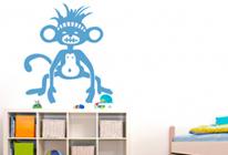 Samolepky na zeď - Opička