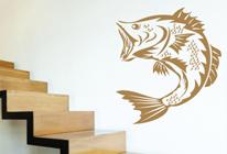 Samolepky na zeď - Ryba 03
