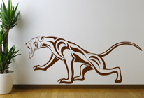 Samolepky na zeď - Puma