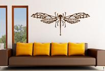 Samolepky na zeď - Vážka
