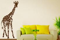 Samolepky na zeď - Žirafa 01