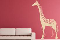 Samolepky na zeď - Žirafa 02