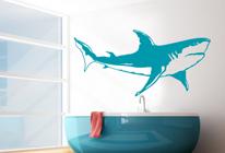 Samolepky na zeď - Žralok 03