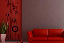 Samolepky na zeď - Dekorativní váza