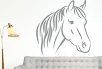Samolepky na zeď - Kůň 01