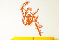 Samolepky na zeď - Skateboard 03