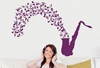 Saxofón s notami - SLEVA 30%